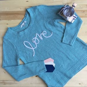 Lauren Conrad LOVE Knit Sweater